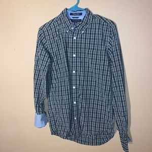 Tommy Hilfiger men's S flip cuff button down shirt
